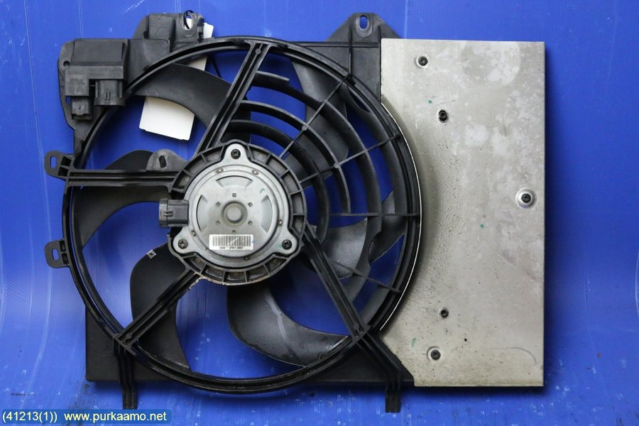 Electric cooling fan, Citroen C3 Picasso -2011