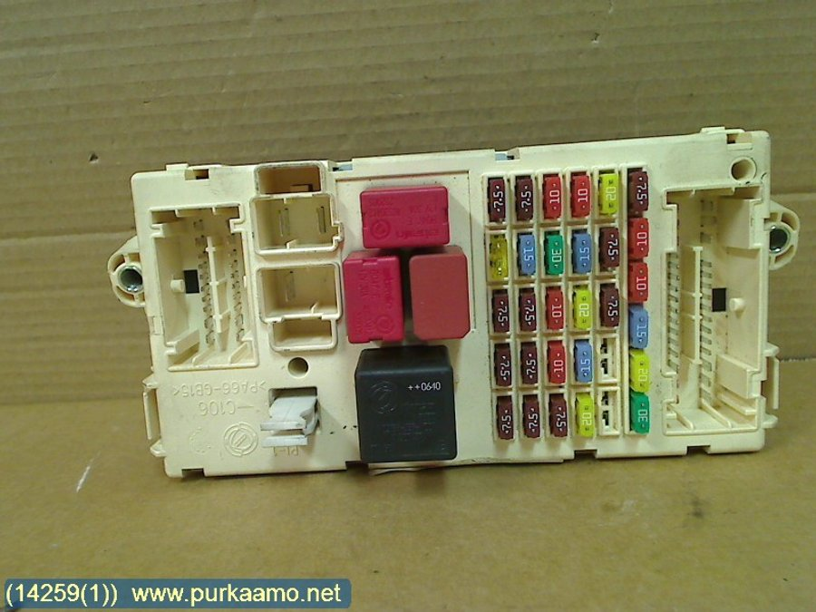 fuse box electricity central 01349985080 citroen jumper 2007 rh varaosahaku fi citroen jumper fuse box citroen jumper fuse box