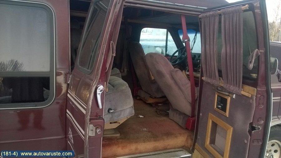 Car for dismantling - Chevrolet VAN G20 -1991