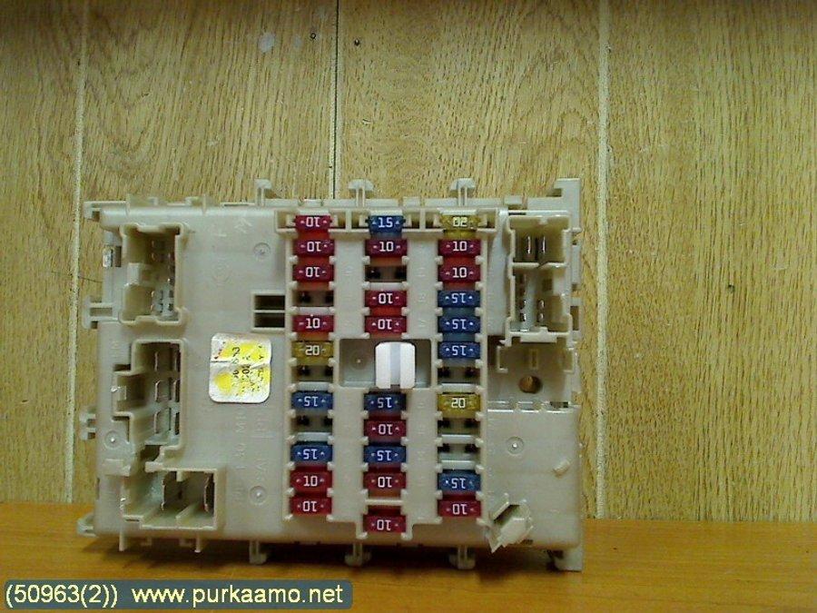 Fuse box / Electricity central, Nissan Almera -2002 Nissan Almera Fuse Box Location on