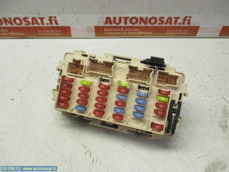 Fuse Box Electricity Central Nissan X Trail 2003