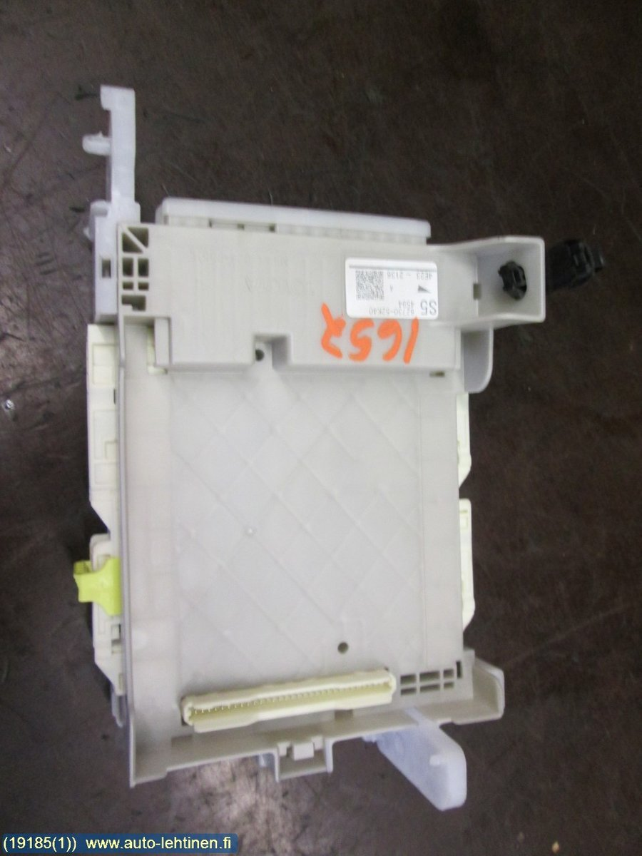 Fuse box / Electricity central, Toyota Yaris -2014 Fuse Box Yaris on