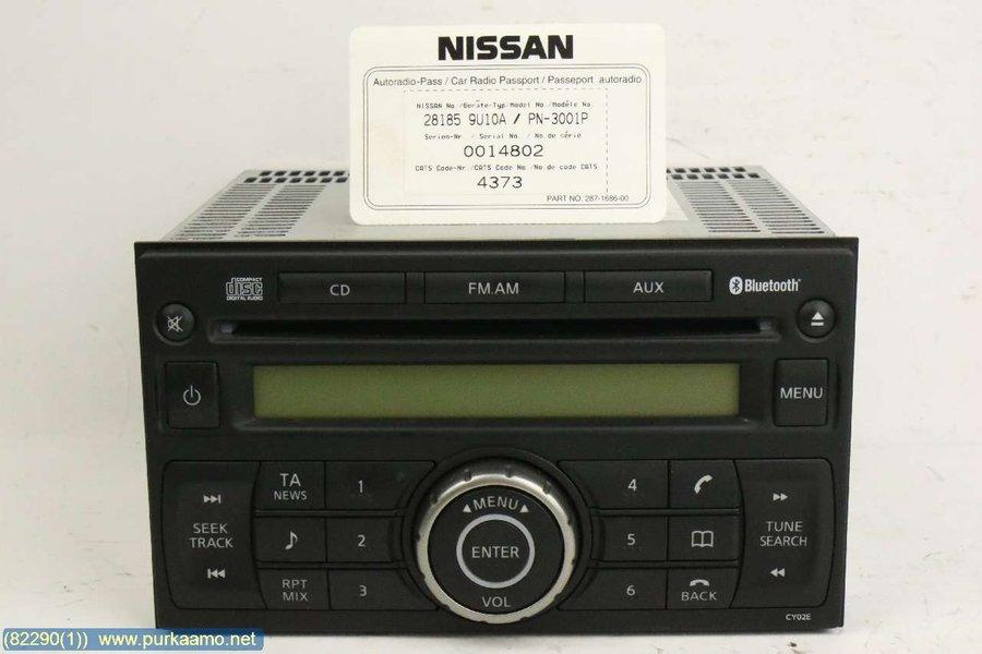 cd radio (28185-9u10a) - nissan note -2008