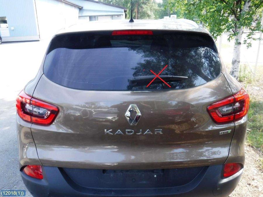 Renault Kadjar 2017 >> Takakansi Farmari Van Renault Kadjar 2017