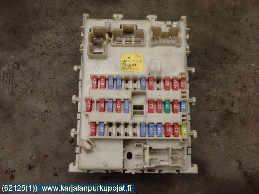 Fuse box electricity central bu nissan
