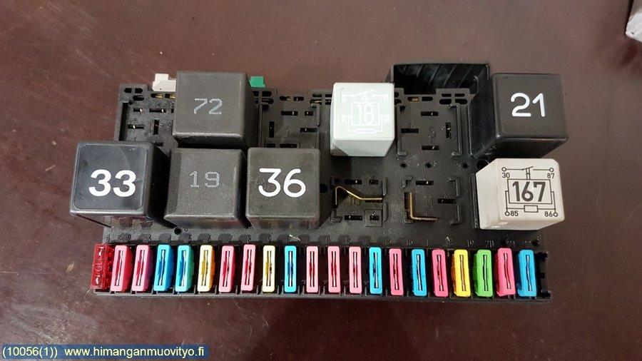 fuse box / electricity central - vw polo -1997  varaosahaku