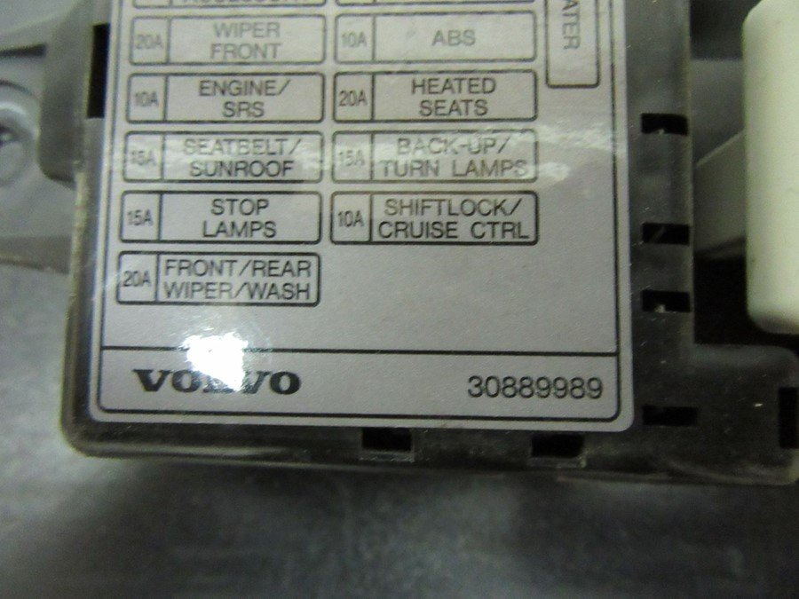 fuse box electricity central (30889989) volvo s40, v40 96 04 2003 2007  volvo s40 fuse box diagram volvo s40 2003 fuse box
