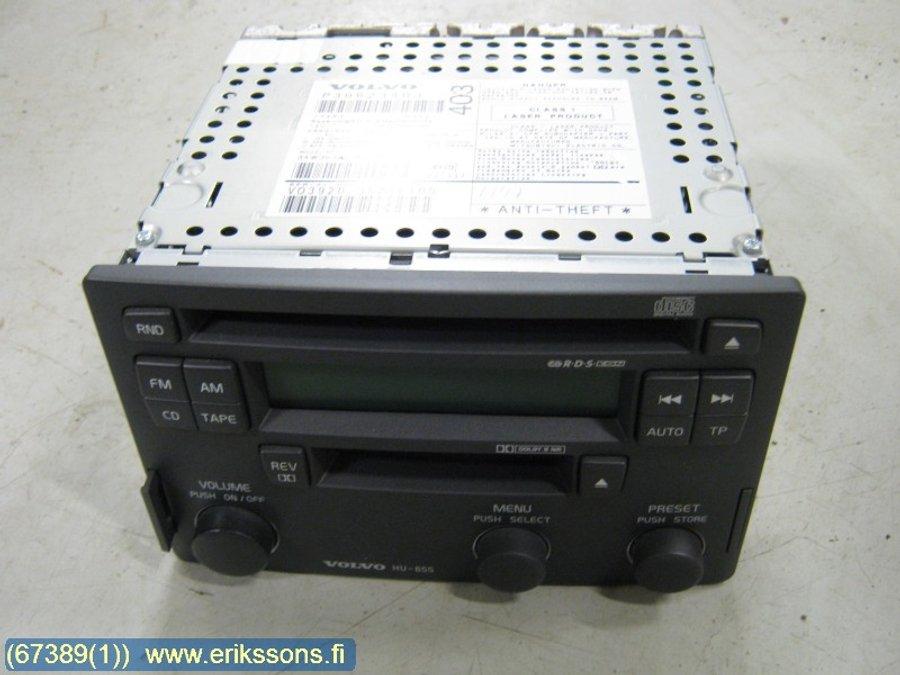 Radio, Volvo S40, V40 96-04 -2003