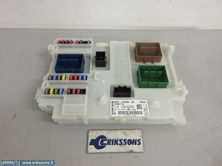 Fuse box / Electricity central, Volvo XC60 -2013 Fuse Box Xc on