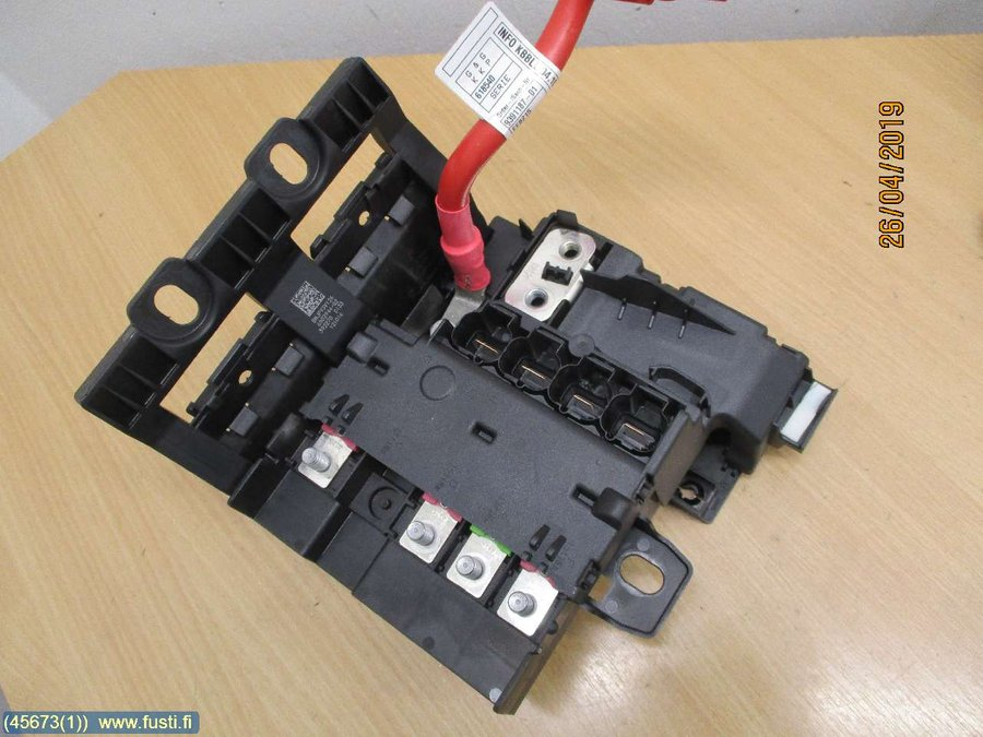 Fuse box / Electricity central, BMW 7-Series -2017  Bmw Fuse Box on