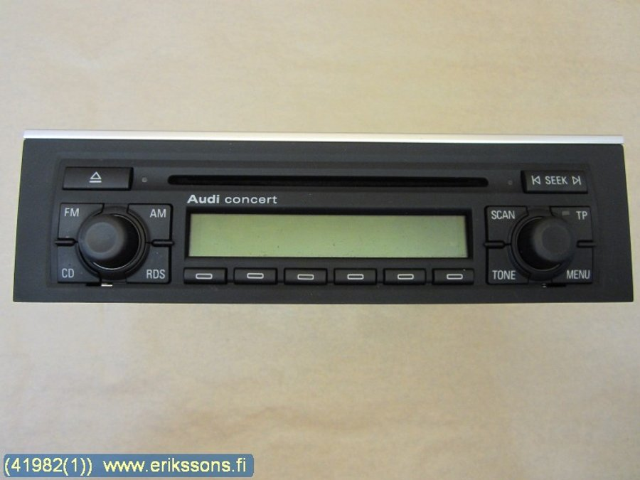 Radio, Audi A4, S4 -2006