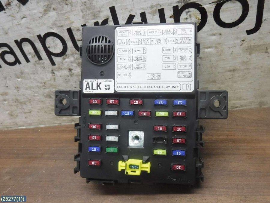 Fuse box / Electricity central - Chevrolet Spark -2010 | Spark Fuse Breaker Box |  | Varaosahaku