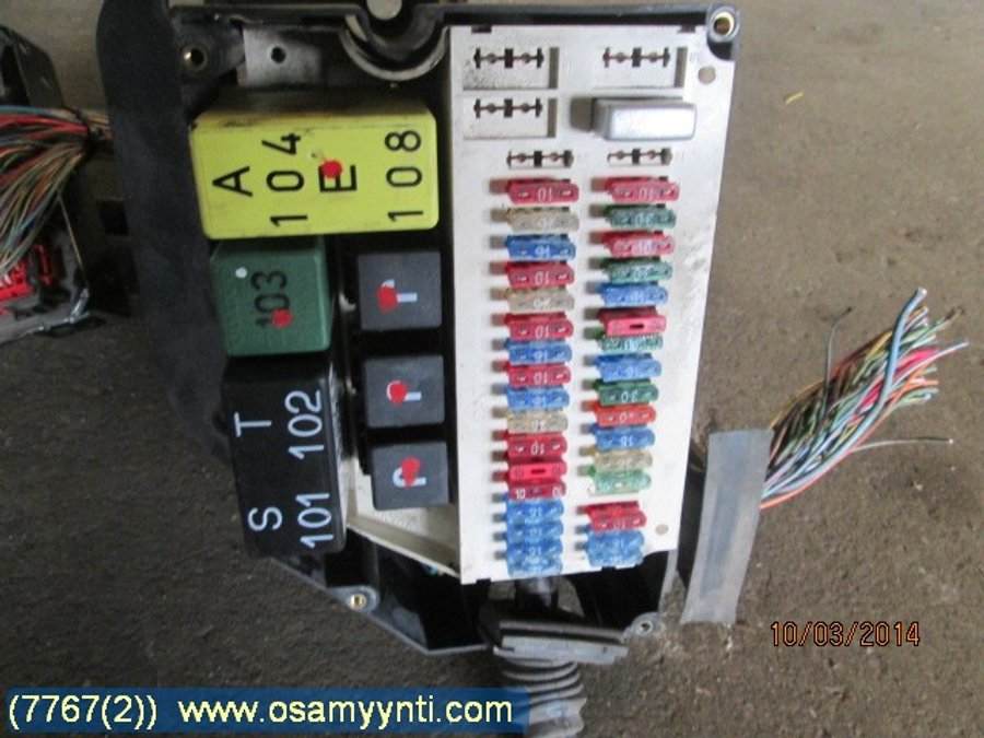 Fuse Box    Electricity Central - Volvo 850