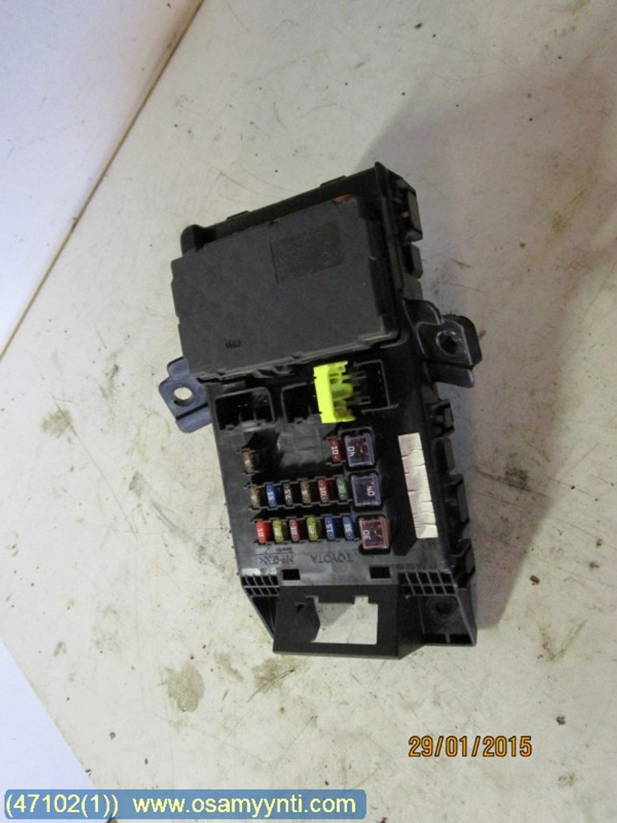 Fuse Box Electricity Central Toyota Avensis 1999